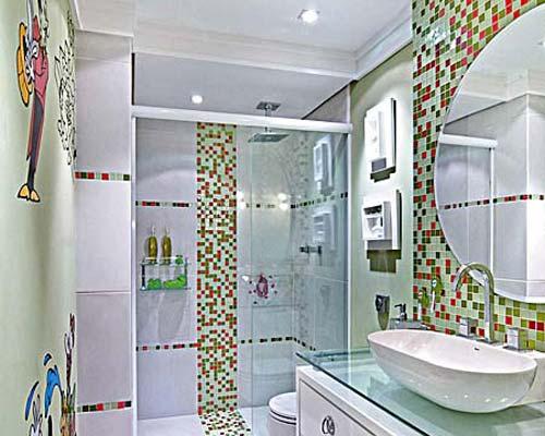 Banheiros Decorados Tendências 2014 5