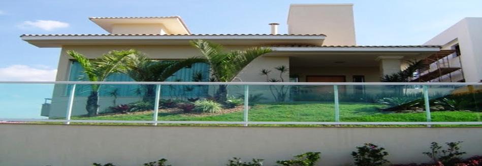 Muro de vidro na decoração