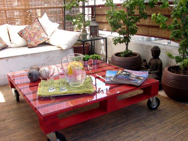 Idéias para Reciclar Pallets em Móveis 7