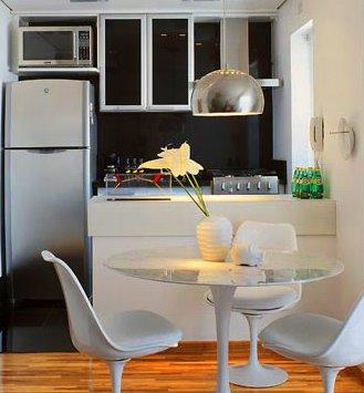 Cozinhas americanas integram ambientes 3