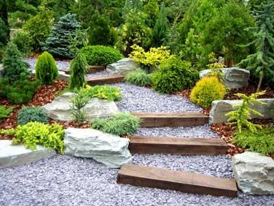 Decoração de Jardim com Pedras - Fotos 2