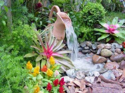 Fontes para Decoração de Jardins 6