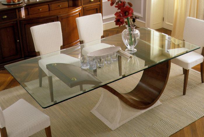Mesas de Jantar em Vidro - Fotos 2
