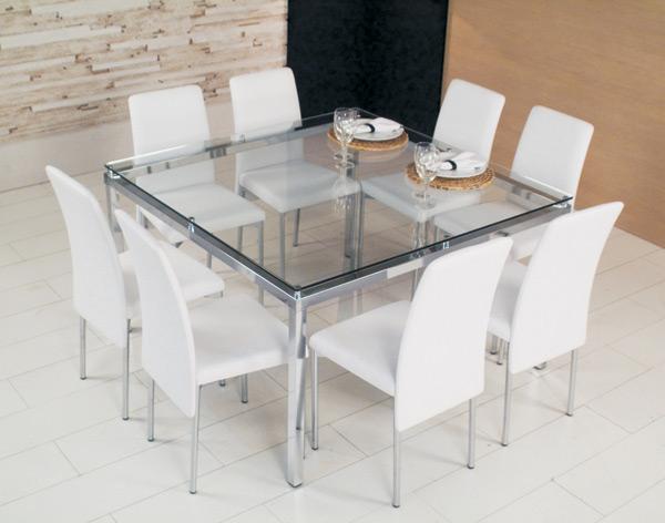 Mesas de Jantar em Vidro - Fotos 3