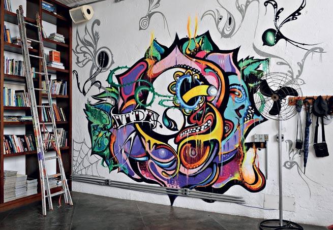 Grafite em casa 9