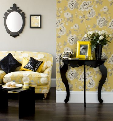 amarelo na decoração