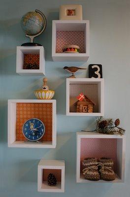 Nichos para decorar e organizar 8