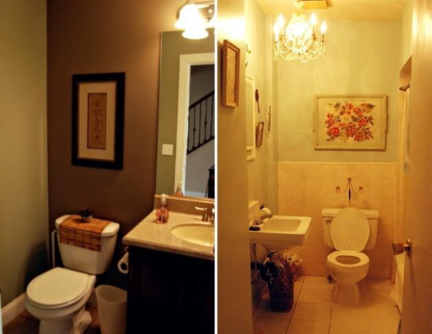 Quadros no banheiro 7