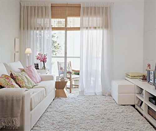 Sala pequena decorada