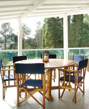 Mesa na varanda 3