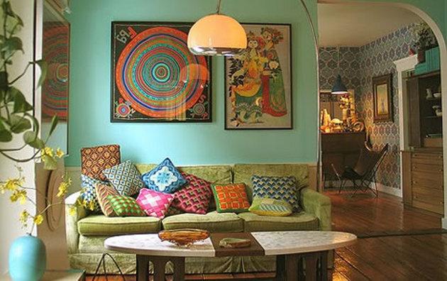 estilo Hippie na decoração 2