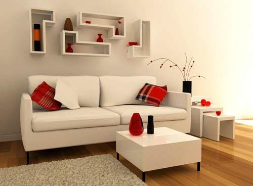 Sala pequena decorada 5