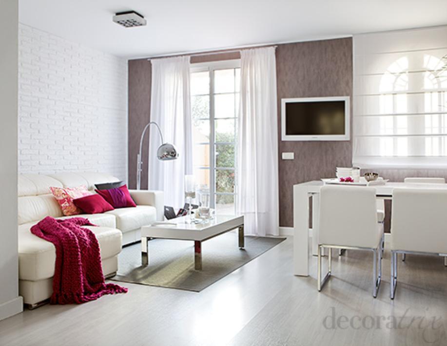 Sala pequena decorada 6