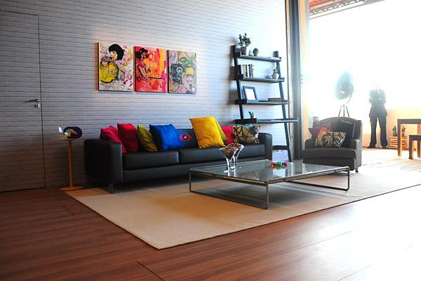 Como decorar o lounge