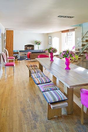Cadeiras diferentes na cozinha 4