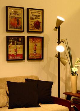 Quadros decorativos bem dispostos 10