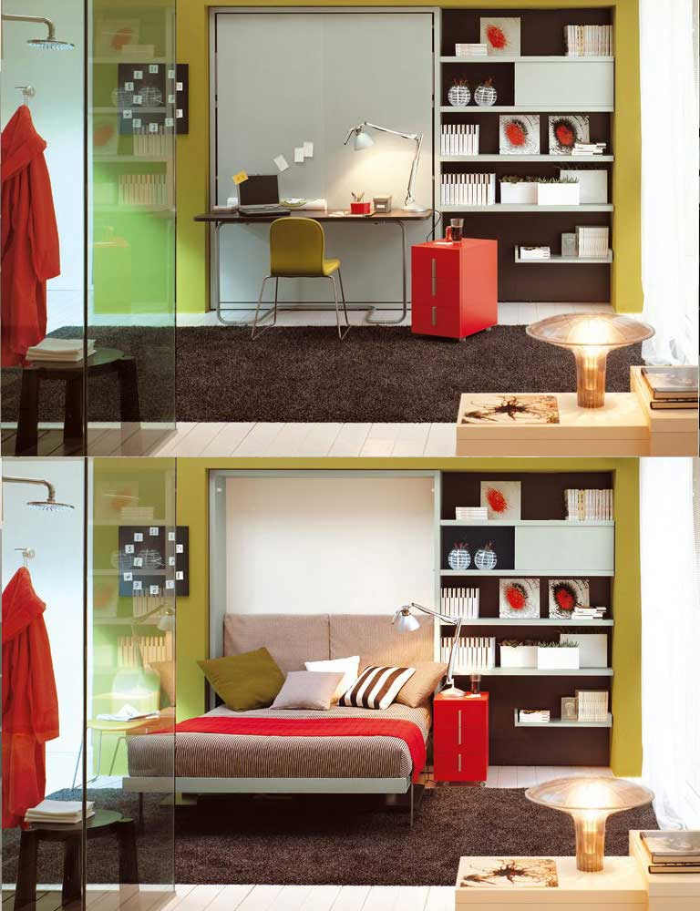Móveis que economizam espaço