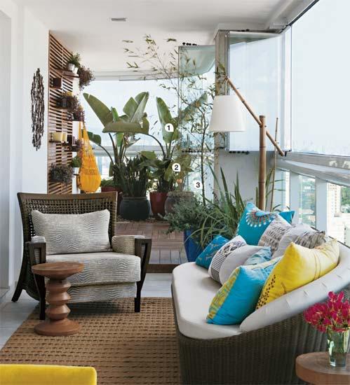 Ideias para decorar varanda 6