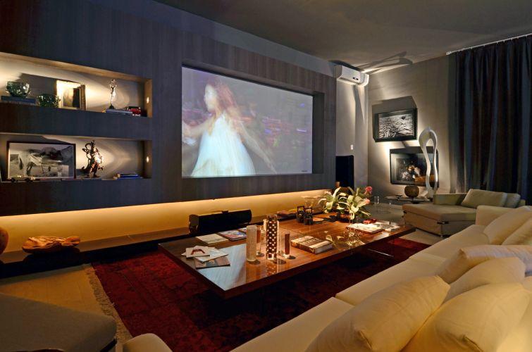 Sala de cinema em casa 4