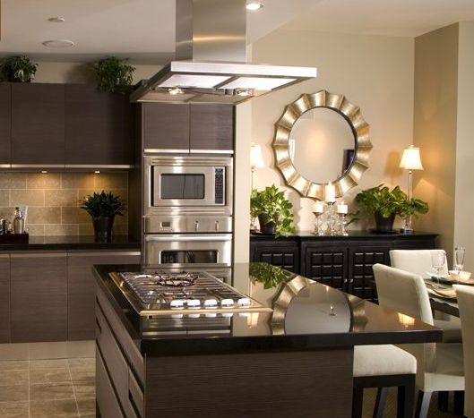 Como decorar cozinha escura