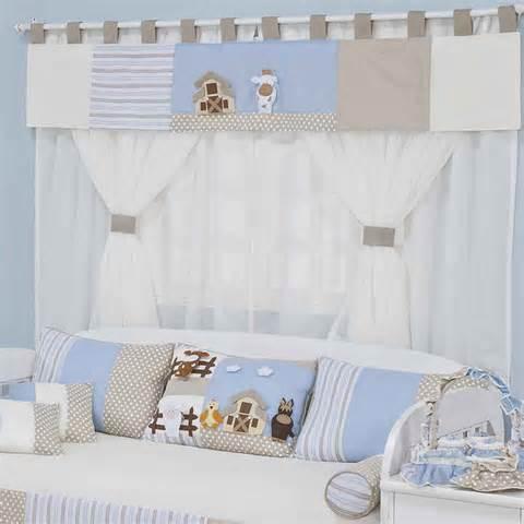Cortina para o quarto de bebê