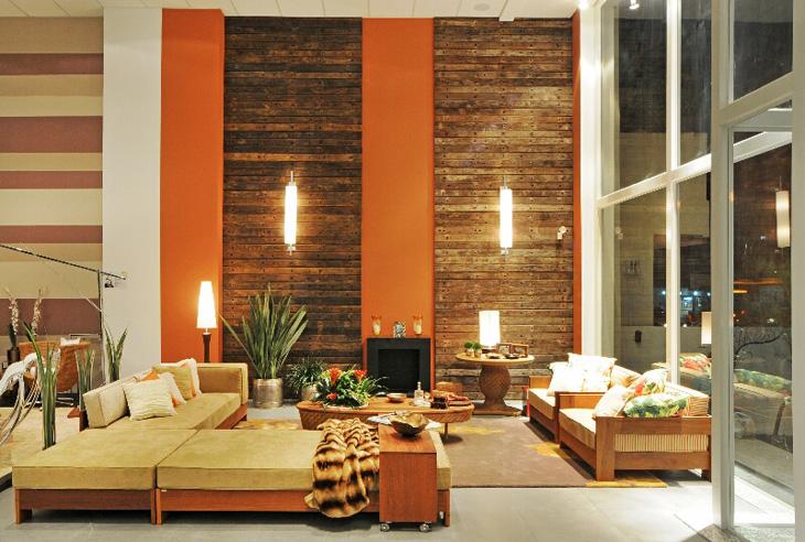 Decoração com madeira de demolição 2