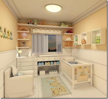 Cortina para o quarto de bebê 5