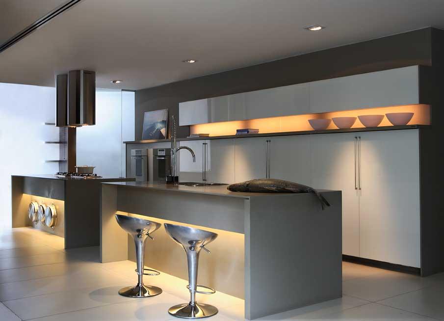 Como decorar cozinha escura 7