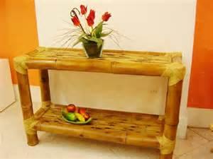 Objetos de bambu na decoração 8