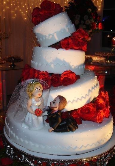 Como escolher bolo de casamento