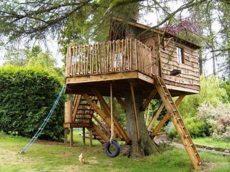 como montar uma casa na árvore 4