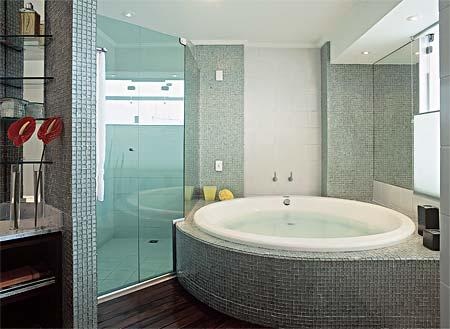 Banheiro com banheira 5