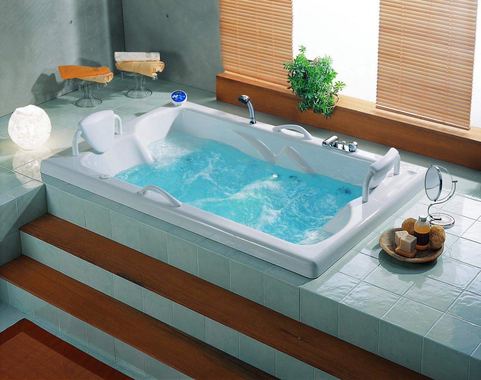 Banheiro com banheira 6