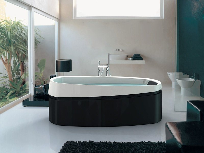 Banheiro com banheira 7