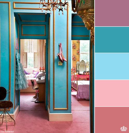 Paleta de cores na decoração 2