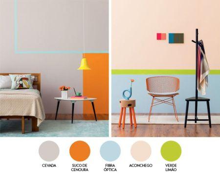 Paleta de cores na decoração 3