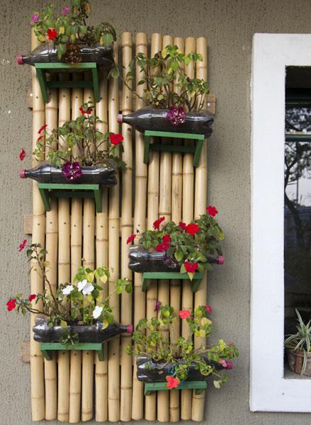 Jardim e horta vertical 3