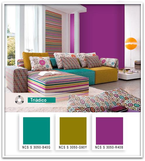 Paleta de cores na decoração 4