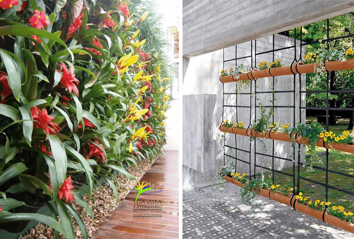 Jardim e horta vertical 6