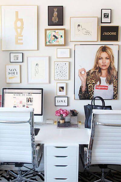 Home office confortável