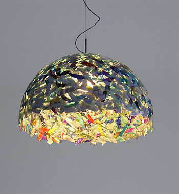 Decoração da sala com objetos recicláveis 5
