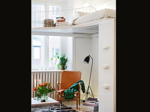 Apartamentos pequenos decorados 5