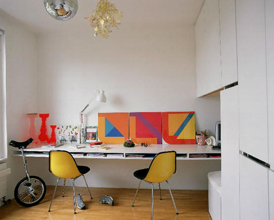 Home office confortável 7
