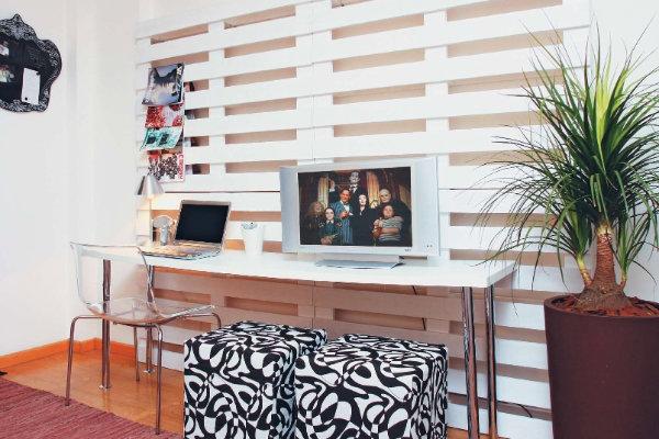 Decoração da sala com objetos recicláveis 8