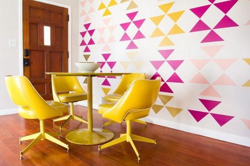 Geometria na decoração 9
