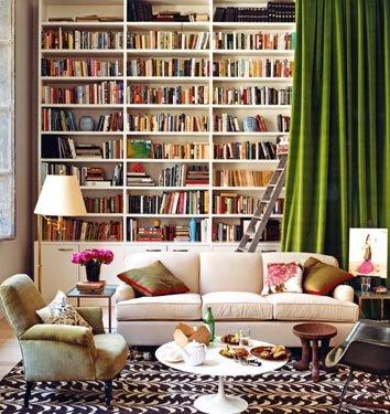 Decorar biblioteca em casa 4