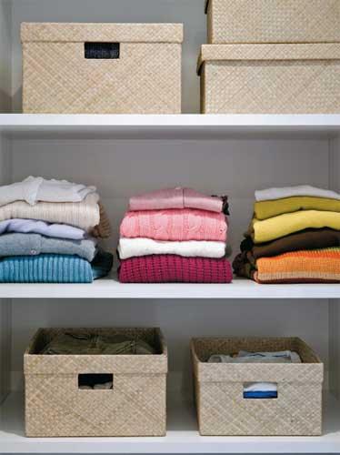 Como organizar o armário 5
