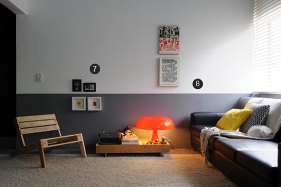 Pinturas inusitadas na parede 5