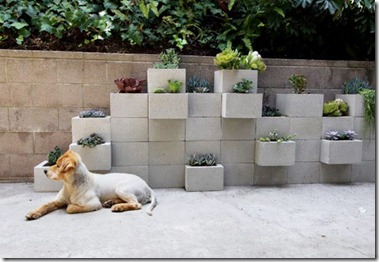 Decorar com blocos de concreto 8