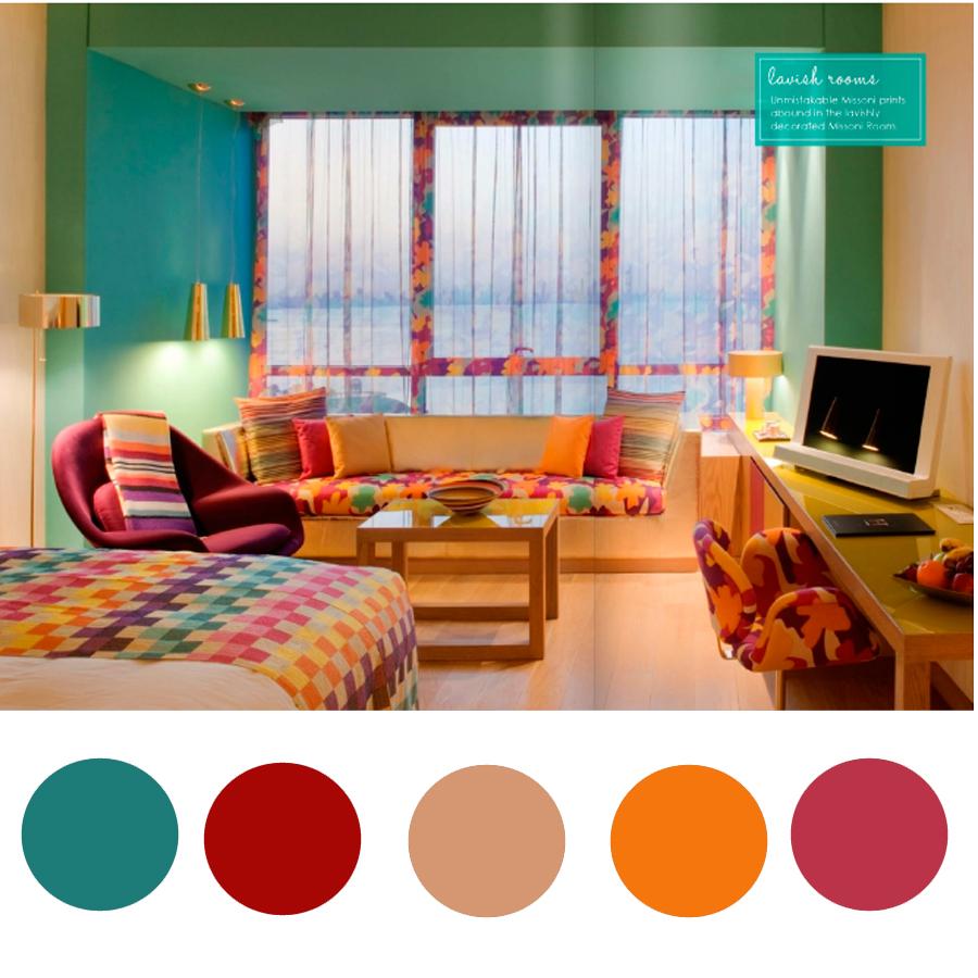 escolher as cores na decoração 7